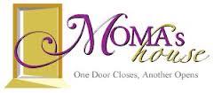 Moma's house logo